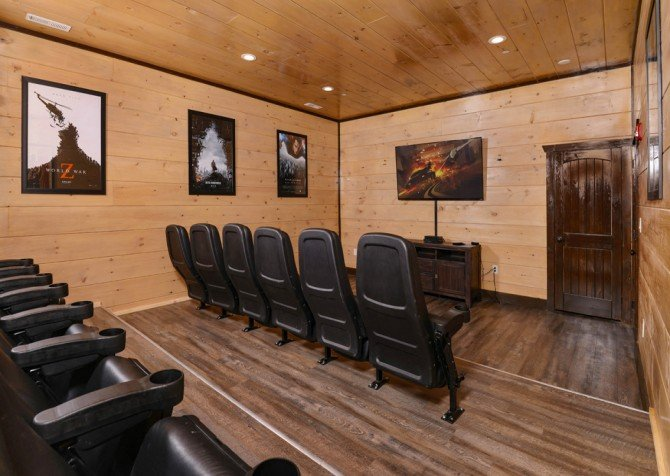 Pigeon Forge - Luxury Lodge - Theater