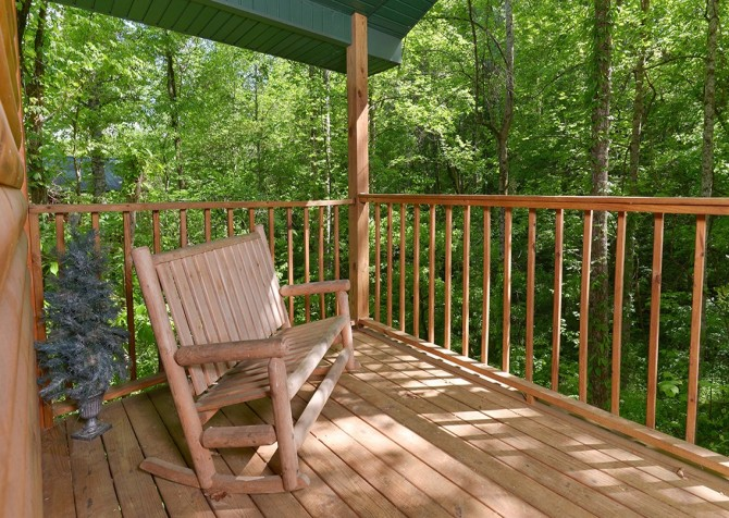 Pigeon Forge - A Moment in Time - Deck Rocker