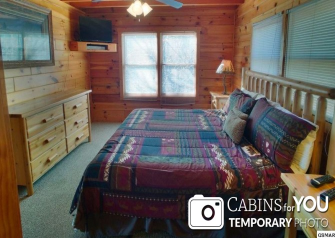 Pigeon Forge - Mountain View - Bedroom Temp