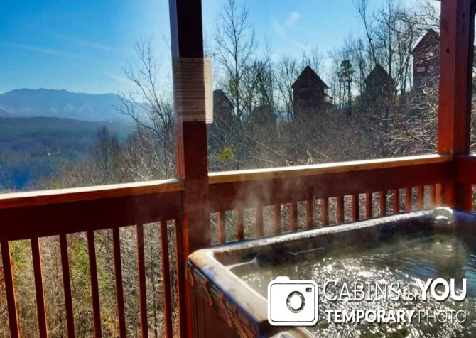 Pigeon Forge - Mountain View - Hot Tub Temp