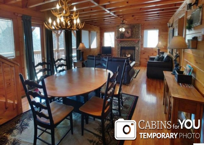 Pigeon Forge - Mountain View - Dining Room Temp