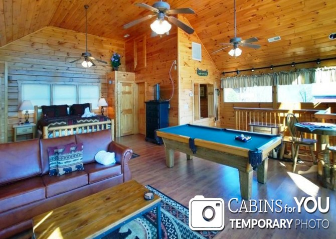 Pigeon Forge - Mountain View - Rec Room Temp