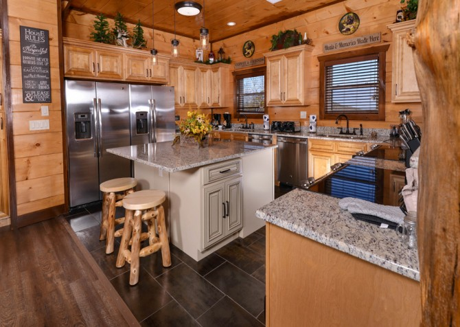 Pigeon Forge - Mountview Paradise - Kitchen