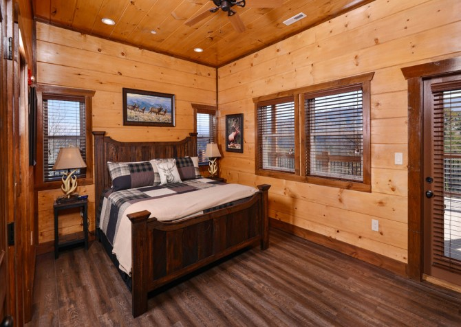 Pigeon Forge - Mountview Paradise - Bedroom Two