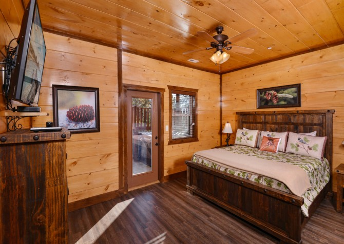 Pigeon Forge - Mountview Paradise - Bedroom Nine