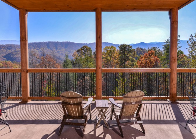 Pigeon Forge - Mountview Paradise - Exterior Seats