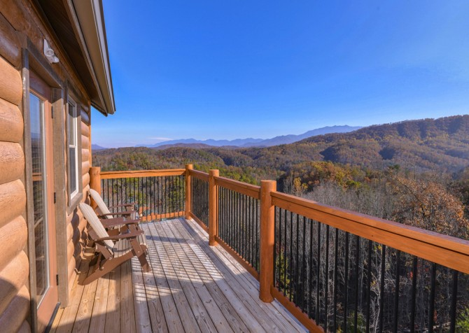 Pigeon Forge - Mountview Paradise - Exterior Deck