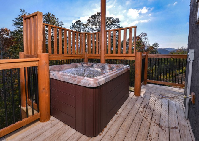 Pigeon Forge - Mountview Paradise - Hot Tub