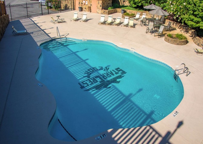 Star Crest Resort   Community Outdoor Pool