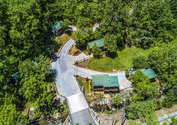 Beside Still Water Resort - Aerial