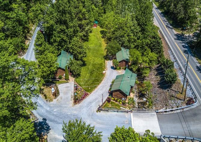 Beside Still Water Resort - Aerial