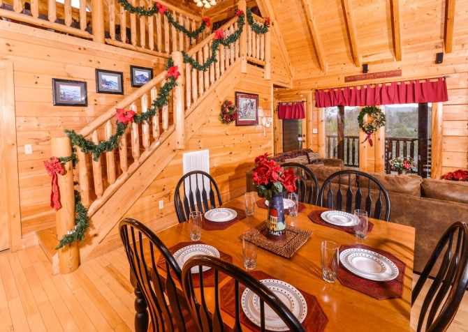 Pigeon Forge Cabin- Oh Yea – Kitchen
