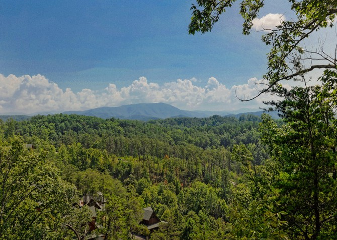 Pigeon Forge Cabin- Oh Yea – View