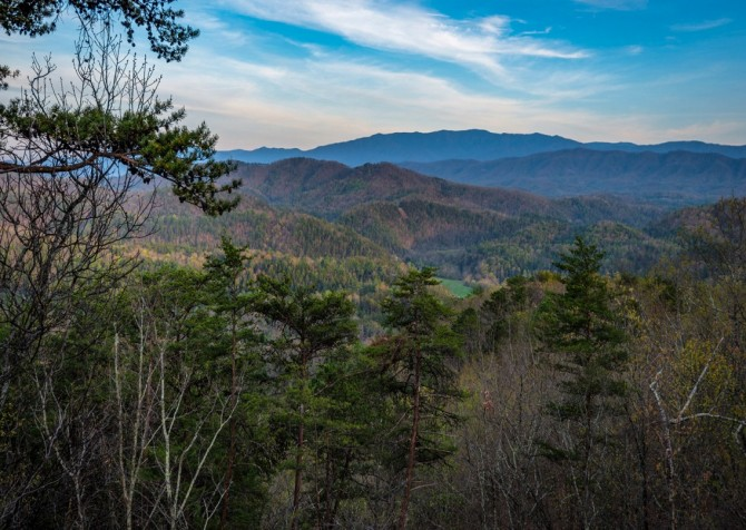 Pigeon Forge Cabin- Once Upon A View – View