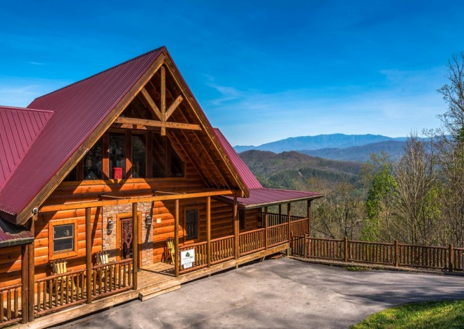 Pigeon Forge Cabin- Once Upon A View – Exterior