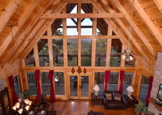 Pigeon Forge Cabin- Once Upon A View – View Indoors