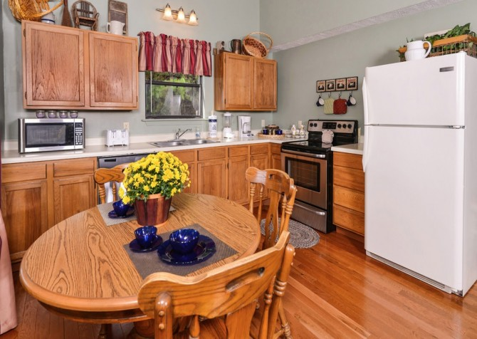 Pigeon Forge Cabin- Over The Top – Kitchen