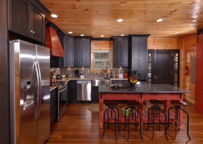 Pigeon Forge Cabin- Point of Grace – Kitchen