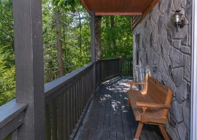 Pigeon Forge - Rocky Top - Deck