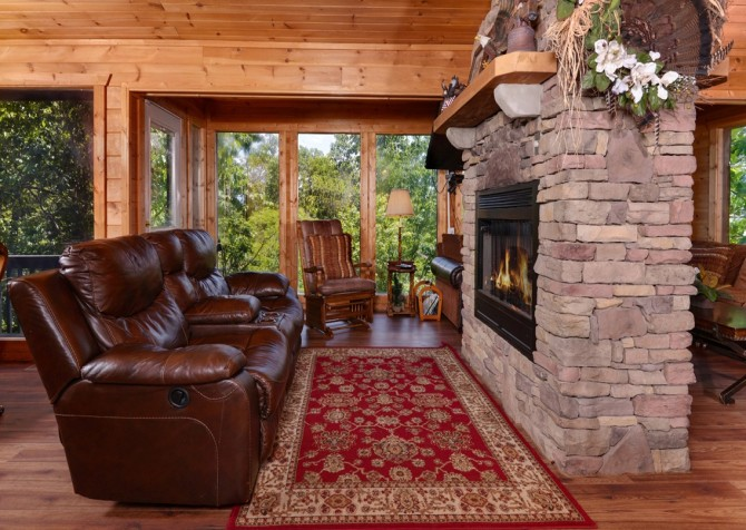 Pigeon Forge - Rocky Top - Living Room
