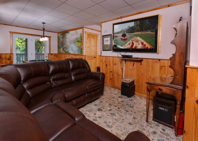 Pigeon Forge - Rocky Top - Media Room