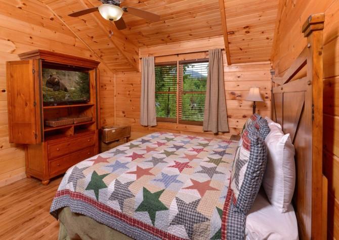 Pigeon Forge - Saddle Creek - Bedroom 1