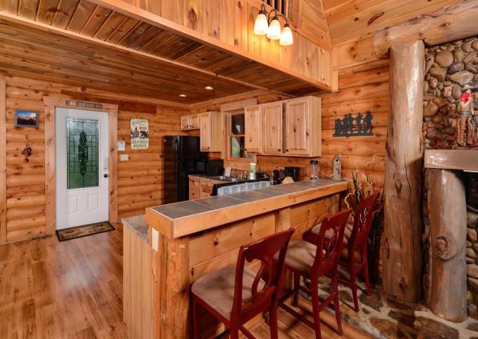 Pigeon Forge - Saddle Creek - Breakfast Bar