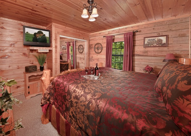 Pigeon Forge - Serendipity - Bedroom