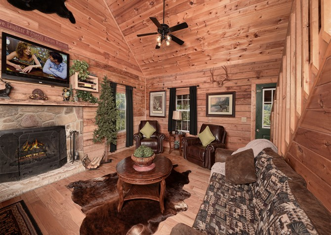 Pigeon Forge - Serendipity - Living Room