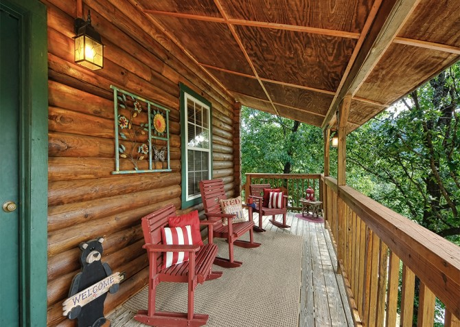 Pigeon Forge - Serendipity - Deck Seating