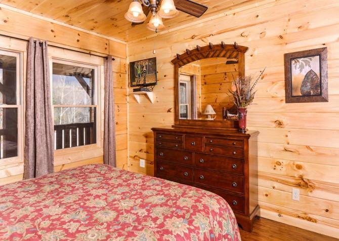 Pigeon Forge - Sierra Springs - Bedroom