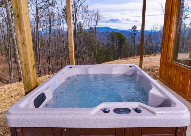 Pigeon Forge - Sierra Springs - Hot Tub