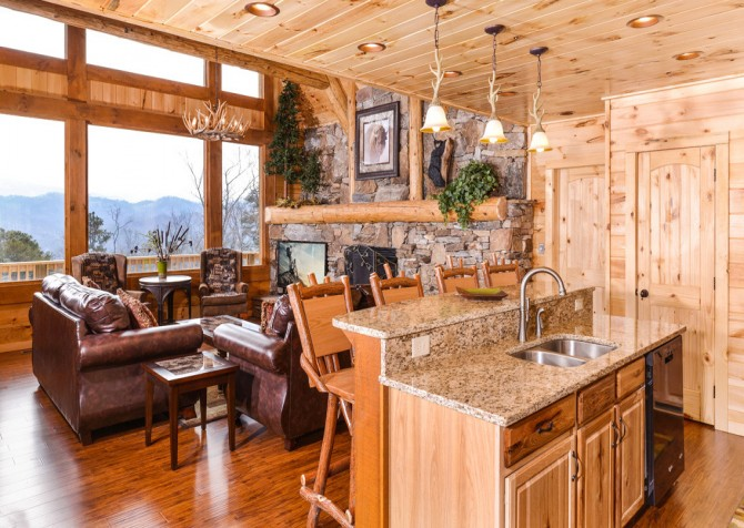 Pigeon Forge - Sierra Springs - Kitchen