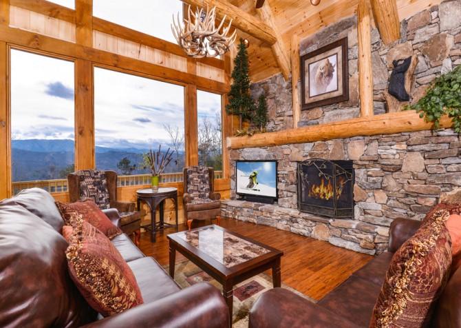 Pigeon Forge - Sierra Springs - Living Room