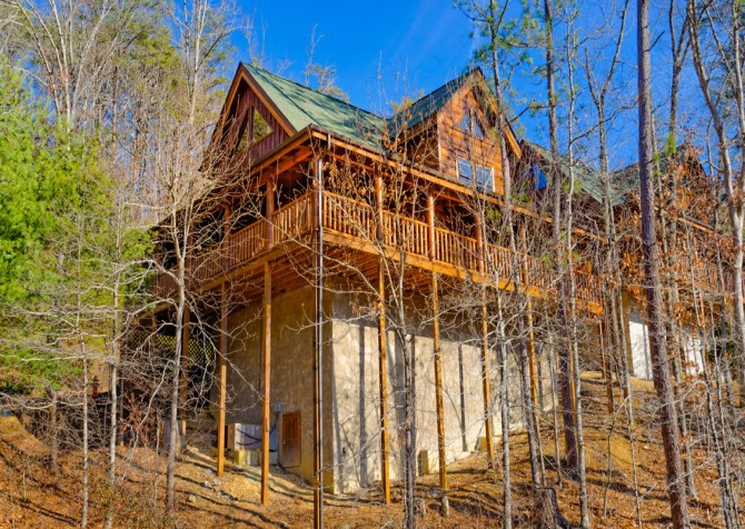Pigeon Forge Cabins - Simply Amazing - Exterior