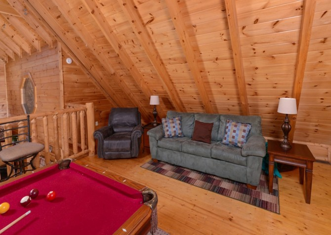 Pigeon Forge Cabins - Simply Amazing - Game Loft