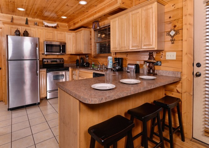 Pigeon Forge Sleepy Hollow Kitchen