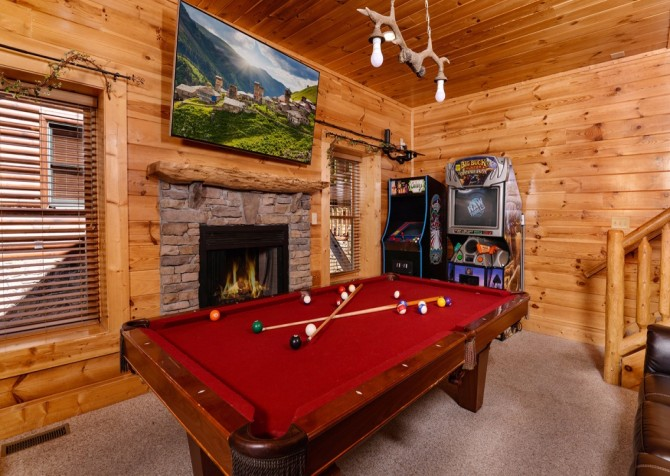Pigeon Forge Sleepy Hollow Recreation Room