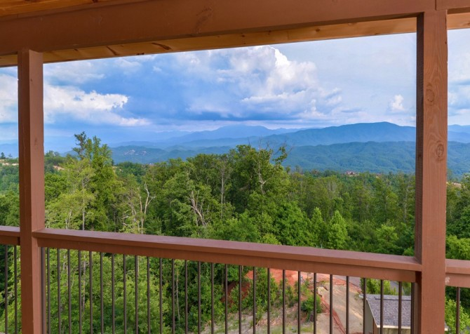 Pigeon Forge Smoky Mountain Manor View