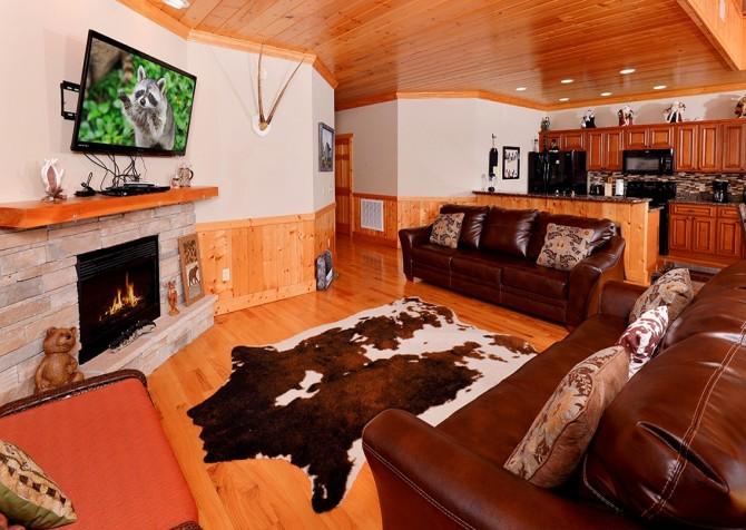 Pigeon Forge - A Splashtastic View - Living Room
