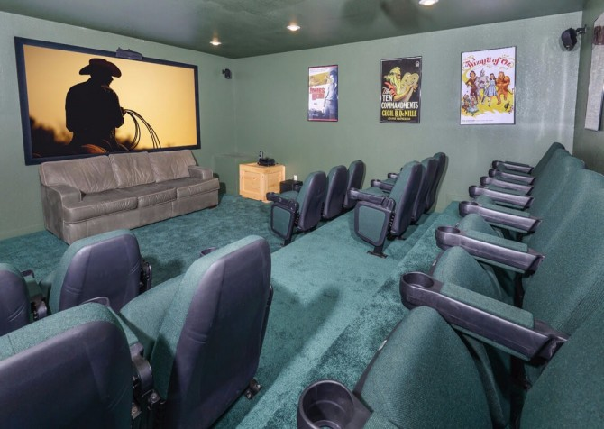 Pigeon Forge Splish Splash Theater Room