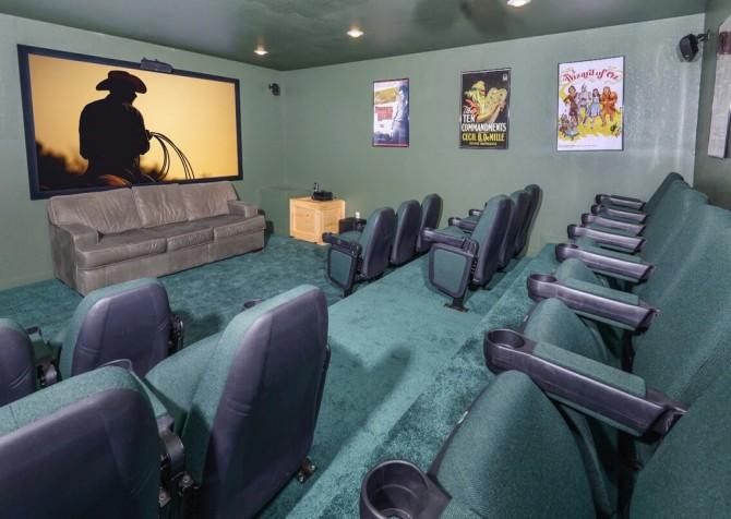 Pigeon Forge Splish Splash Theater Room
