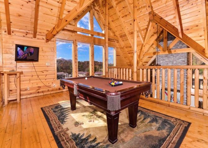 Pigeon Forge - A Suite Escape - Gameroom Loft