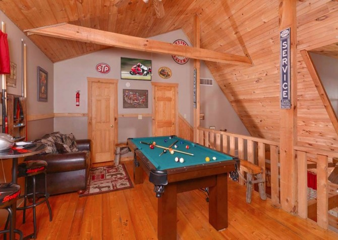 Pigeon Forge Sweet Annie Recreation Room