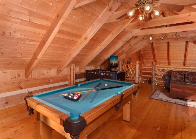Pigeon Forge - A Sweet Retreat - Gameroom Loft