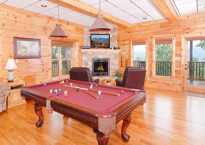 Pigeon Forge The Deck House Recreation Room
