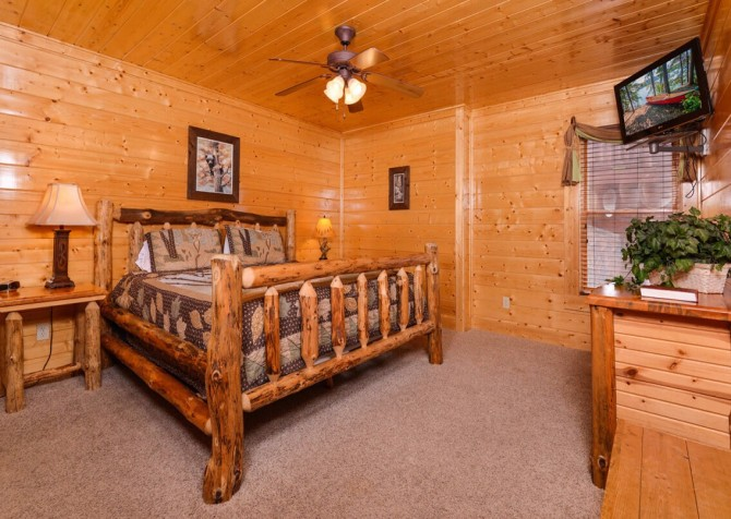 Pigeon Forge - The View - Bedroom