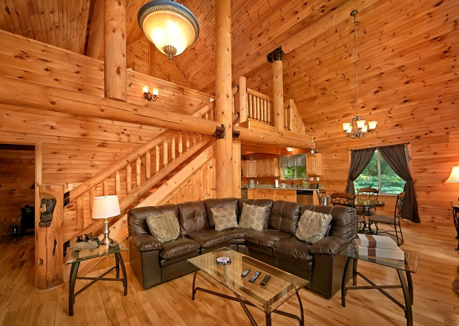 Pigeon Forge Timber Toy Living Room