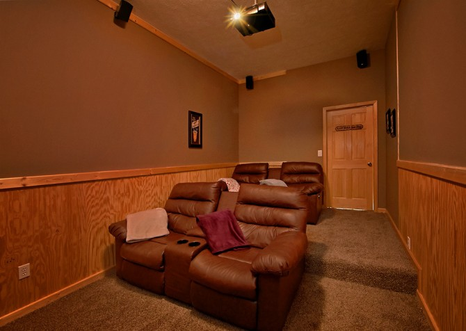 Pigeon Forge Timber Toy Theater Room