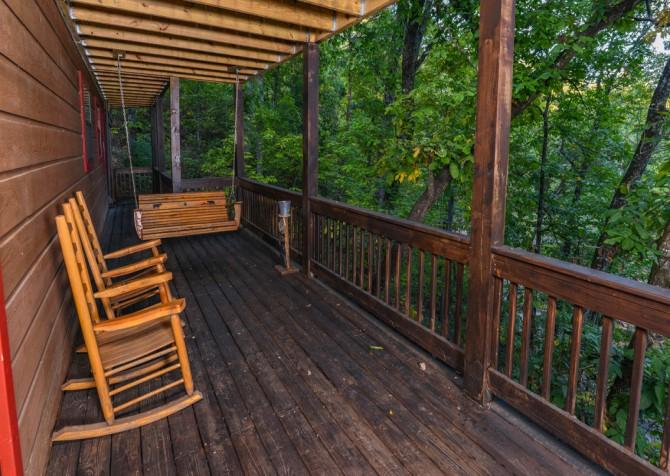 Pigeon Forge - Traveler's Rest - Exterior Deck